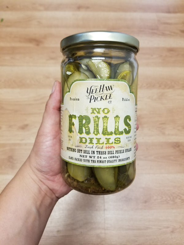 Yeehaw Pickle - No Frills Dill - 24 oz.