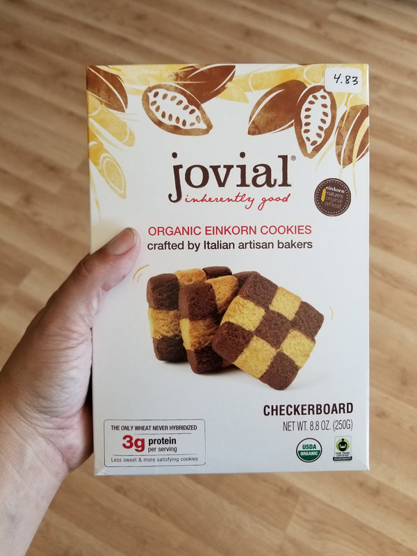 Jovial Checkerboard Einkorn Cookies