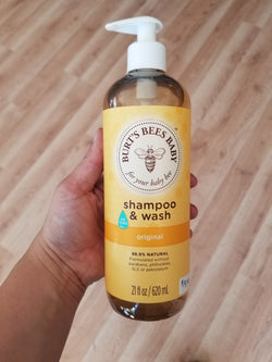 Burt's Bees Baby Shampoo and Wash- 21 oz.
