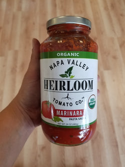 Organic Napa Valley Heirloom Tomato Co. - Marinara - 24 oz.