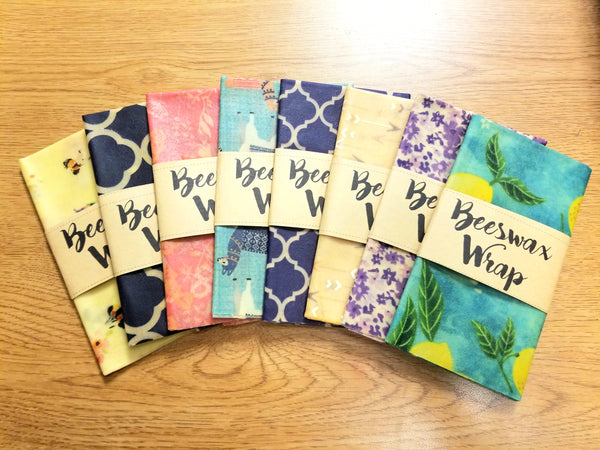 Beeswax Wrap - Made in Wisconsin - 12x12""