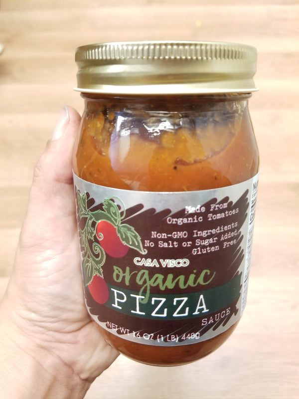 Organic Casa Visco Pizza Sauce - 16 oz.