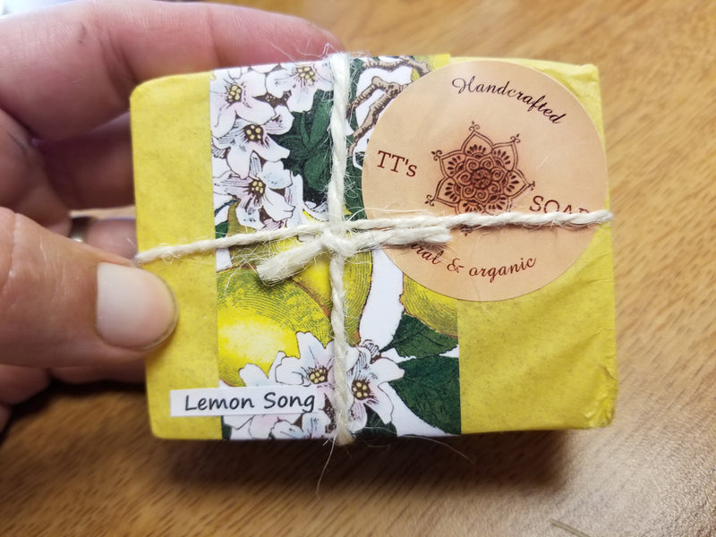 Local Natural Soap - Vegan -  ~ 3 1/2 oz.