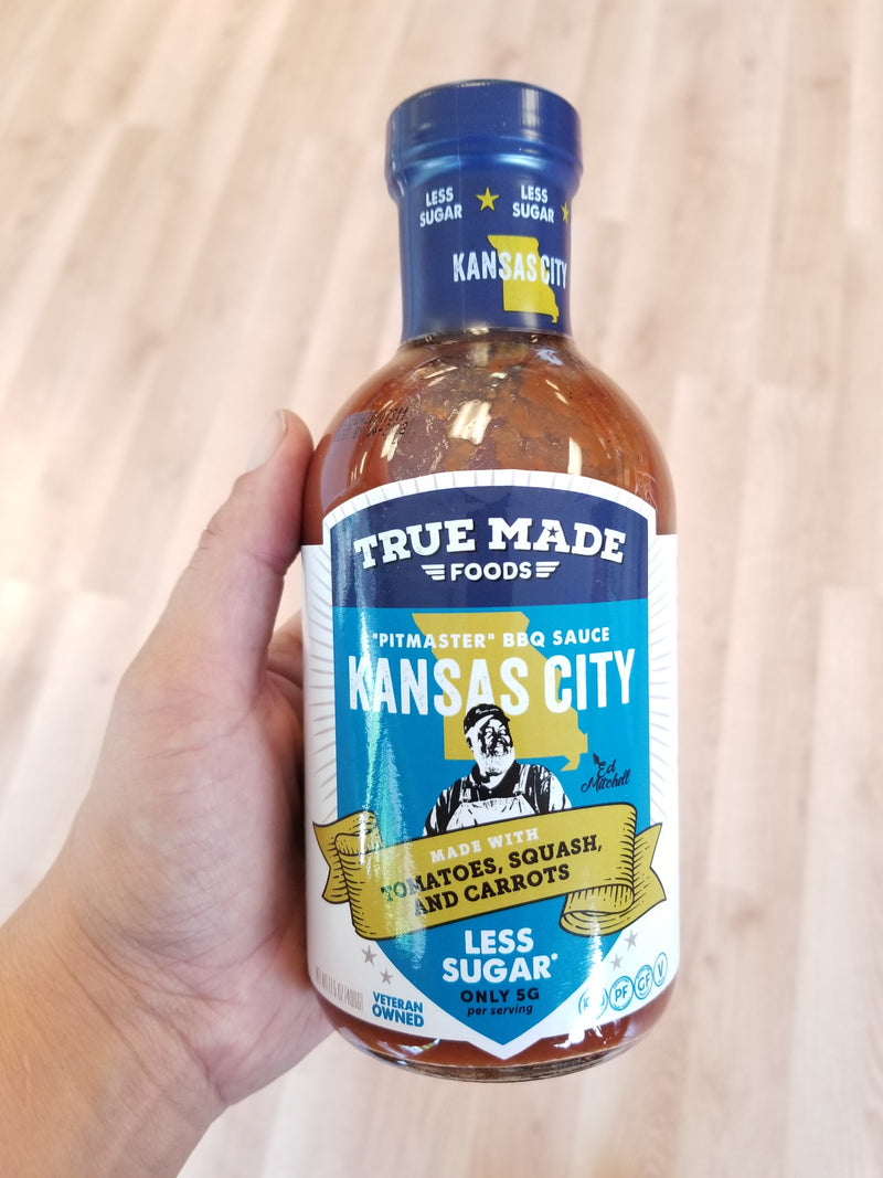 True Made Foods *Pitmaster* BBQ Sauce - Kansas City