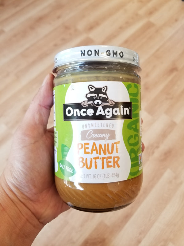 Creamy Organic Peanut Butter - Once Again Nut Butter