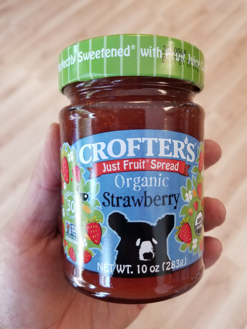 Crofter's Organic Strawberry Just Fruit Spread - 10 oz