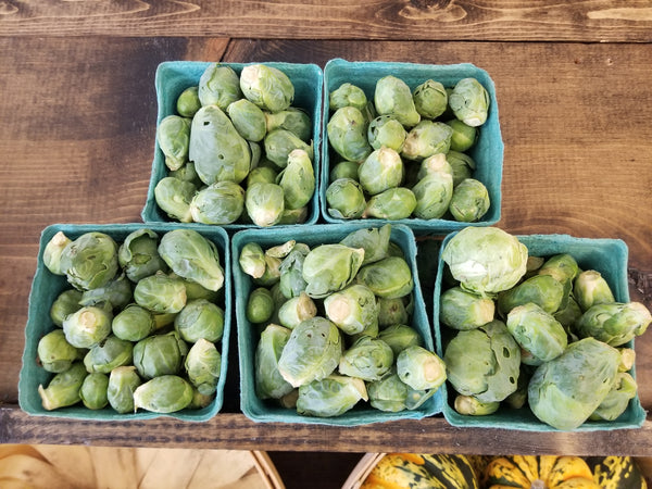 Brussels Sprouts - 1 pint - (grown by Bountiful Beloit)
