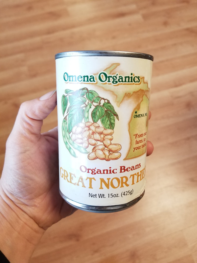 Omena Organics Great Northern Beans