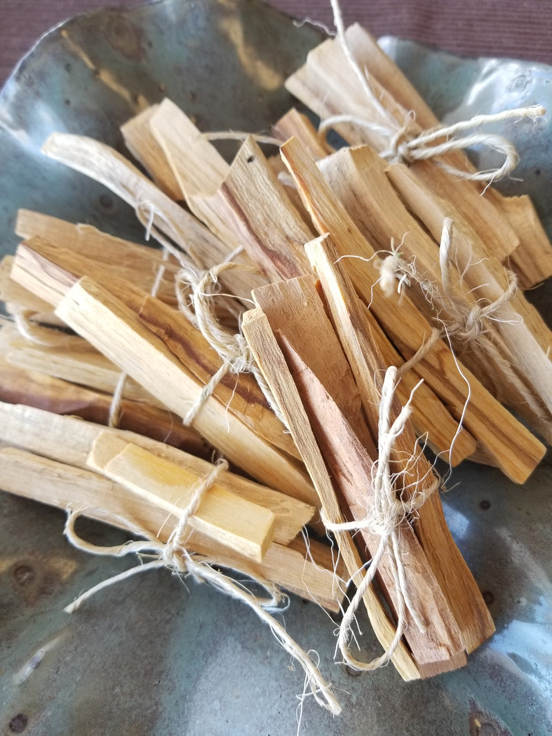 Palo Santo Sticks - Bundle of 3 - Sustainably harvested in Peru