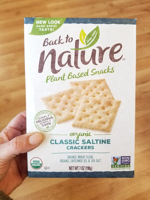 Back To Nature Classic Saltine Crackers - 7 oz