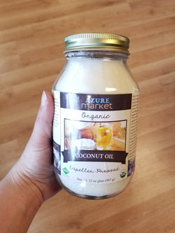 Organic, Expeller-Pressed Coconut Oil - 32 oz.