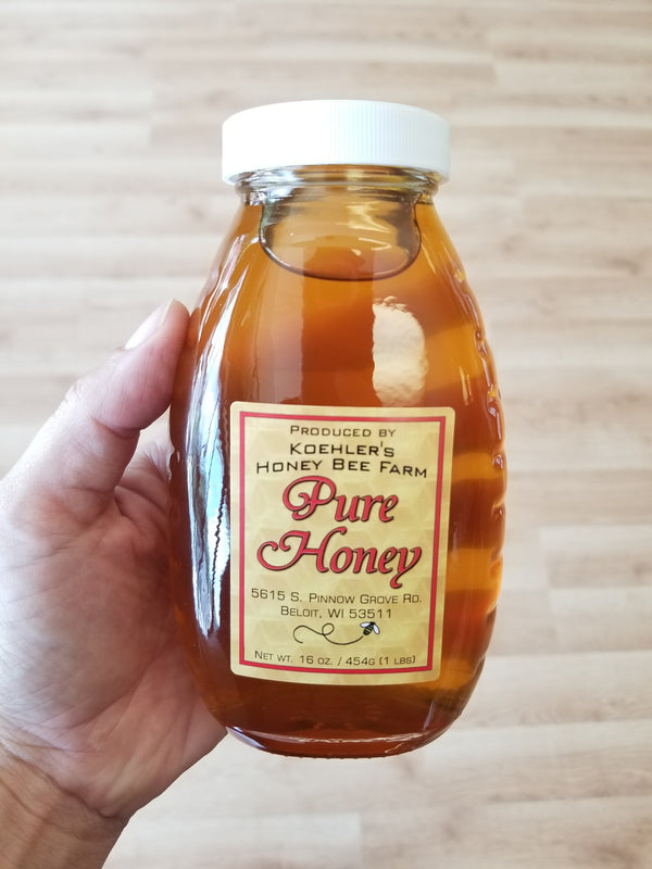 Koehler's Honey - 16 oz - Local Beloit Honey
