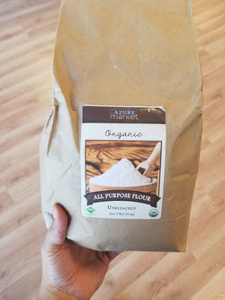 Organic All Purpose Flour - Unbleached - 5 lbs