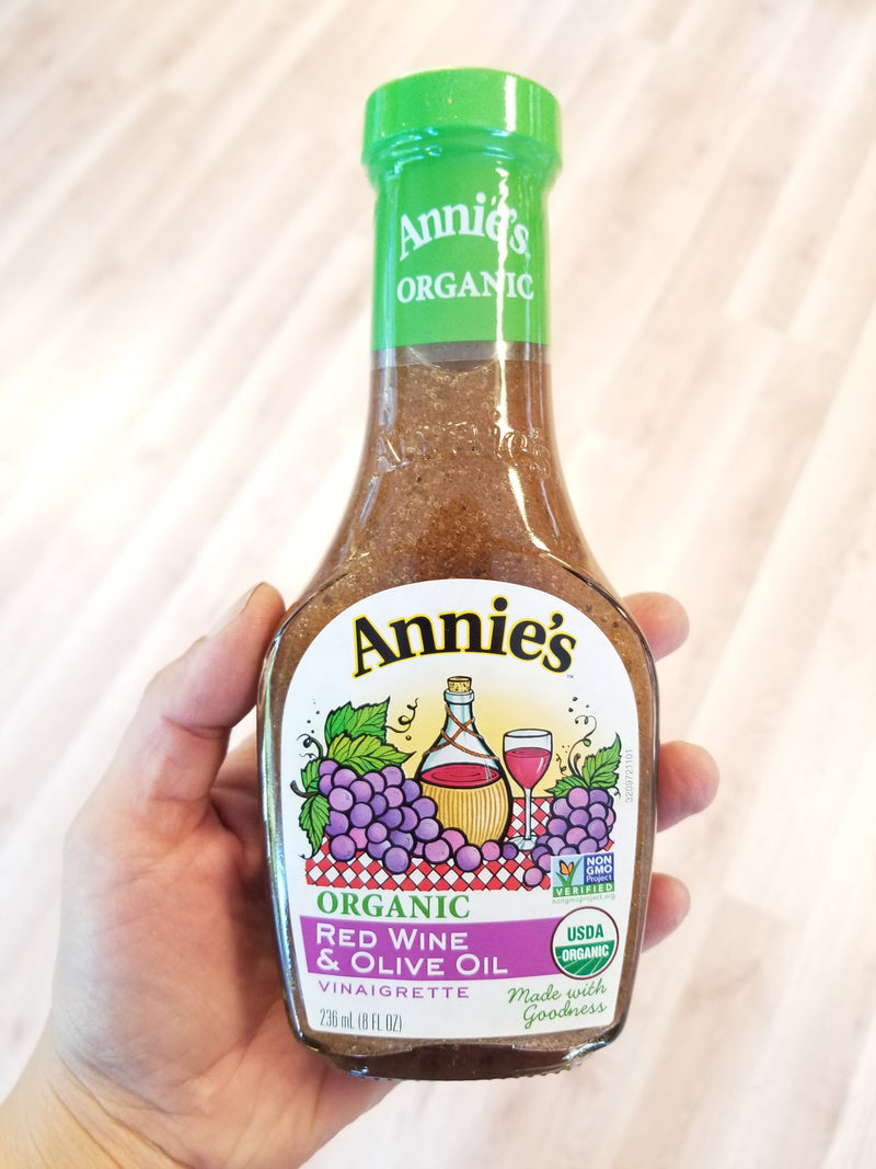 Annie's Organic Red Wine and Olive Oil Vinaigrette