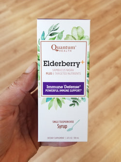 Elderberry+ Syrup - Quantum Health - Powerful Immune Support - 4 oz