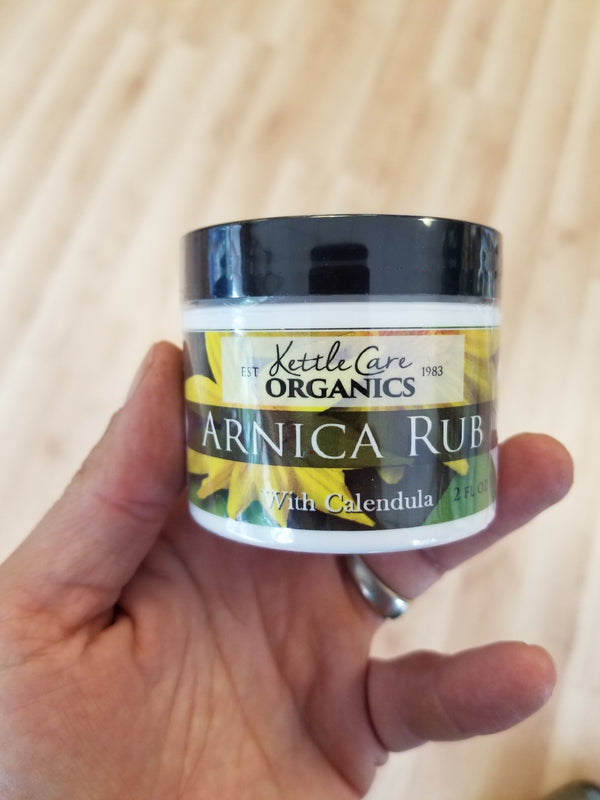Arnica Rub - Kettle Care Organics - 2 oz