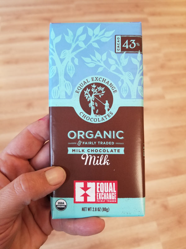 Equal Exchange Organic Milk Chocolate Bar