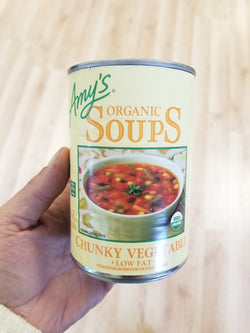 Amy's Chunky Vegetable Soup - Organic