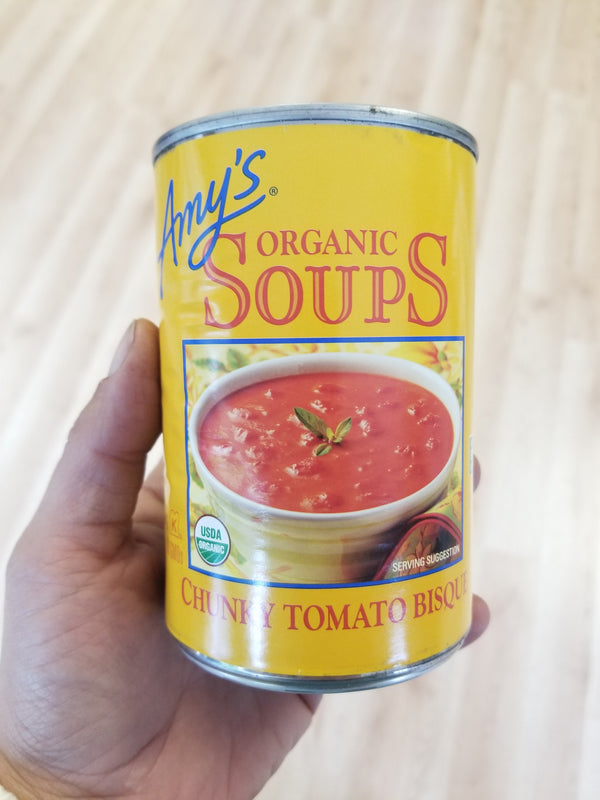 Amy's Chunky Tomato Bisque - Organic Soup