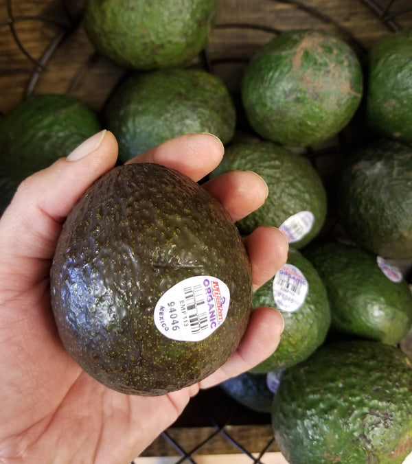 Organic Avocado - 1 each - Grown in Mexico
