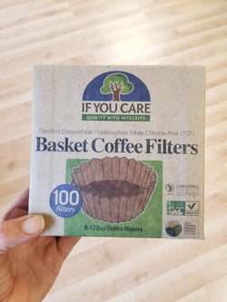 If You Care - Unbleached TCF Coffee Filters