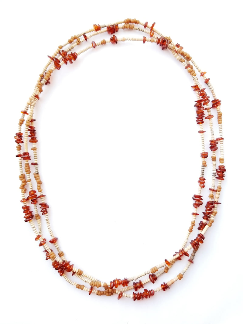 Women's Beaded Necklace - Ember