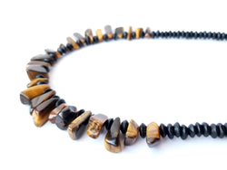 Women's Beaded Necklace - Cat's Eye