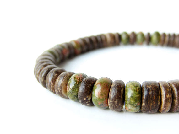 Camo mens surfer bracelet by Authentic Men
