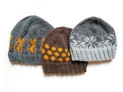 Hand Knit Hat - Practice Hats