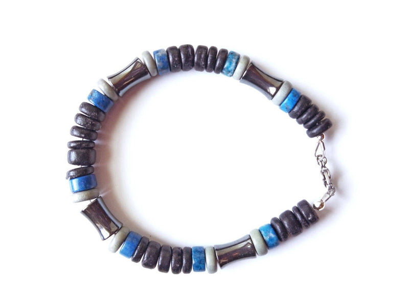 Men's Beaded Bracelet - Blues Song