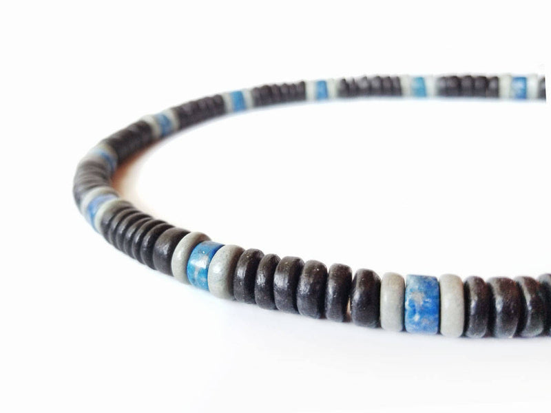 Men's Beaded Necklace - East Coast