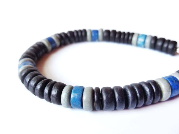Men's Beaded Bracelet - East Coast