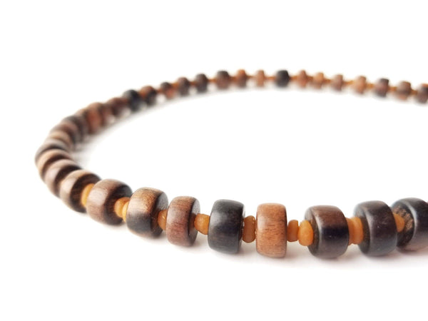 Men's Beaded Necklace - Myrrh