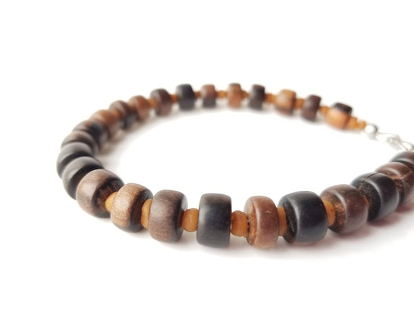 Men's Beaded Bracelet - Myrrh