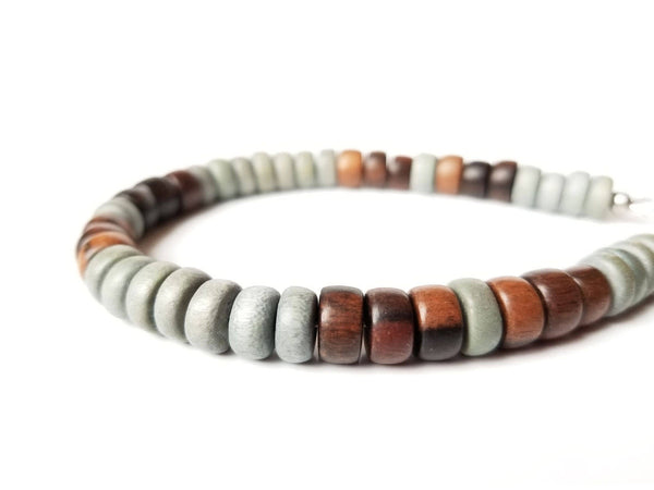 Men's Beaded Bracelet - Stormwood