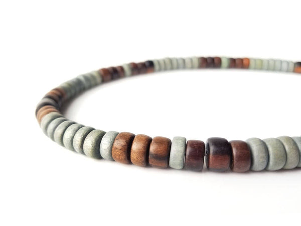 Men's Beaded Necklace - Stormwood
