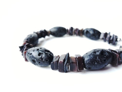 Men's Beaded Bracelet - Mauna Loa