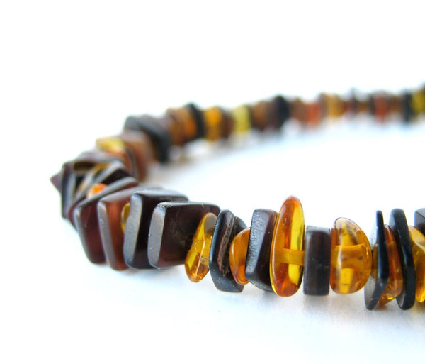 Men's Beaded Bracelet - Forest Fire