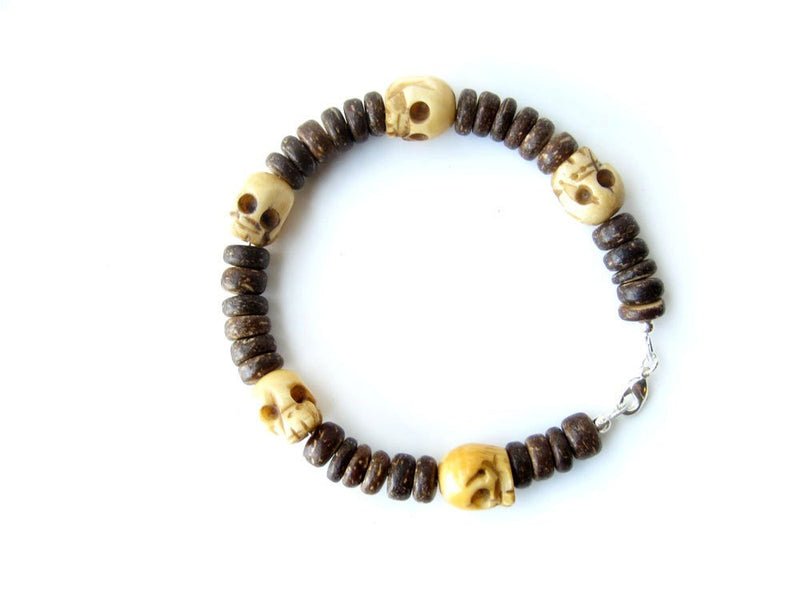 Men's Beaded Bracelet - Tribal Headhunter