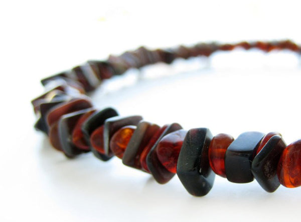 Men's Beaded Bracelet - Forest Ember