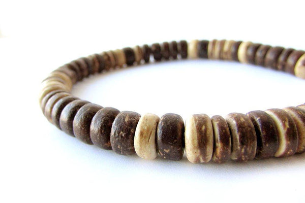 Men's Beaded Bracelet - Woodsman