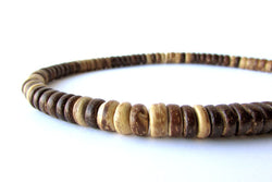 Men's Beaded Necklace - Woodsman