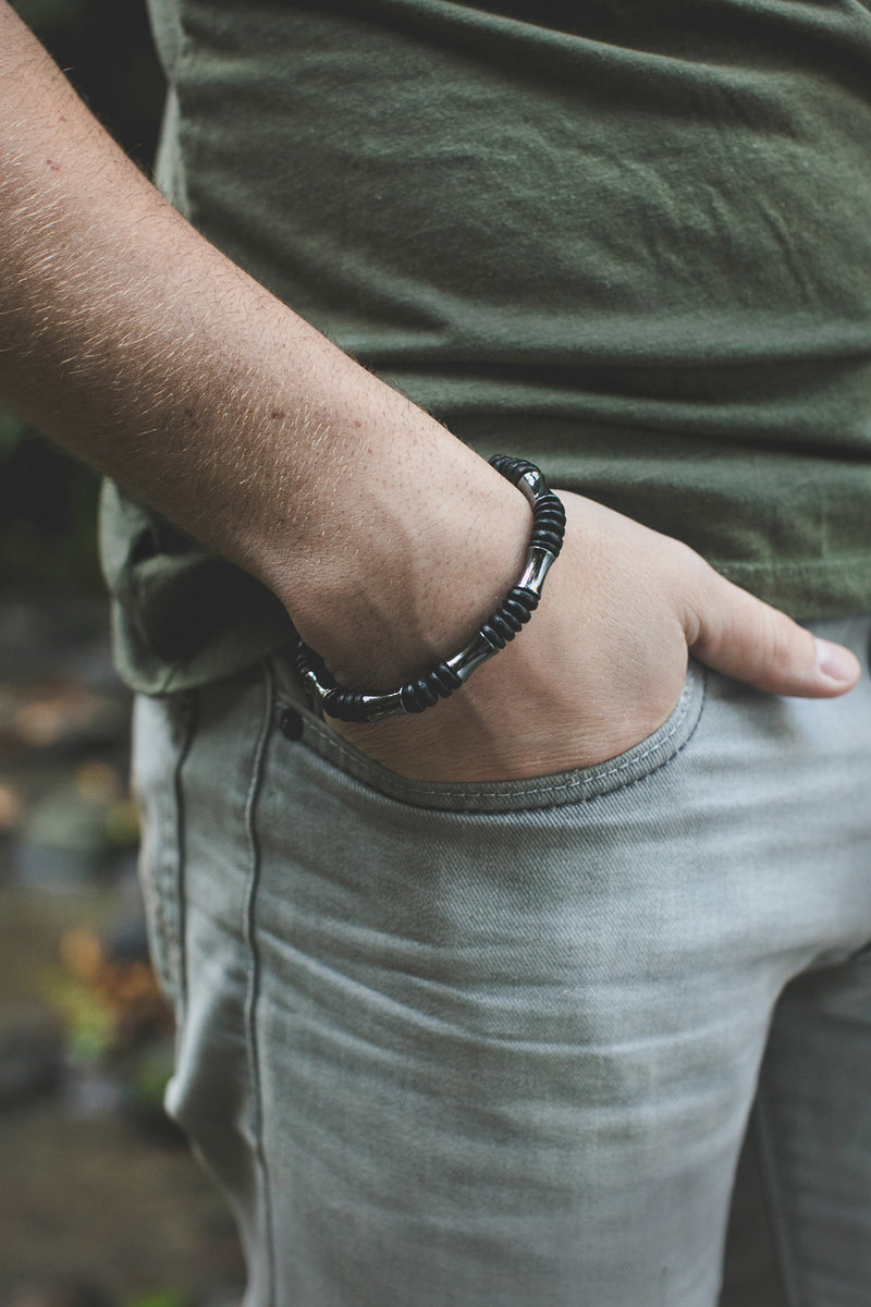 Men's Beaded Bracelet - Fisherman