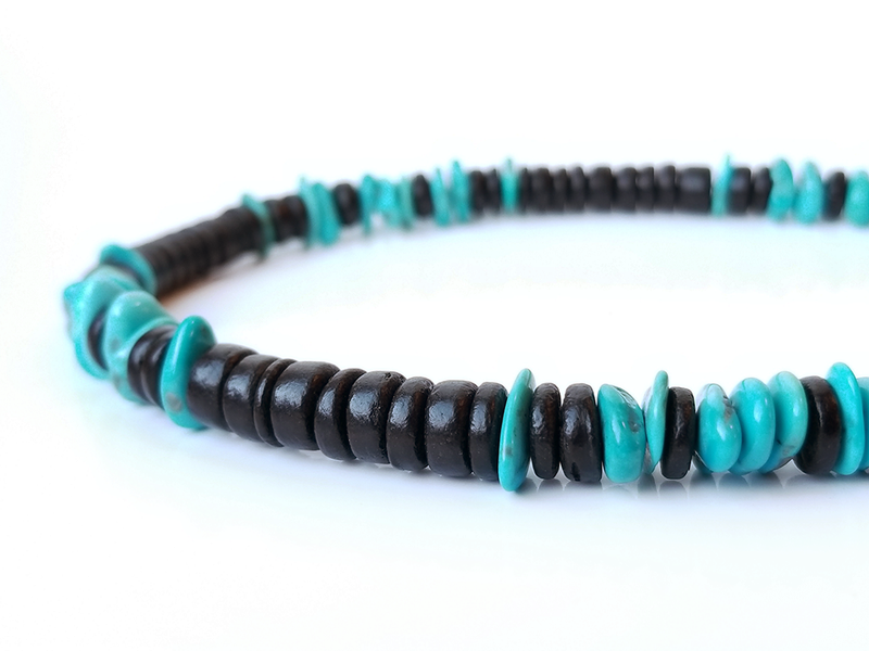 Men's Beaded Necklace - Anasazi