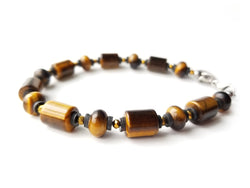 Summit Collection - Men's Luxury Bracelet - Tiger Eye