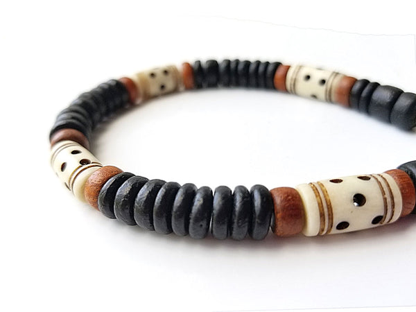 Men's Beaded Bracelet - Morocco