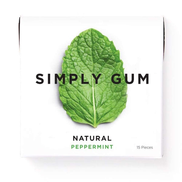 Natural Chicle Gum - Peppermint Flavored