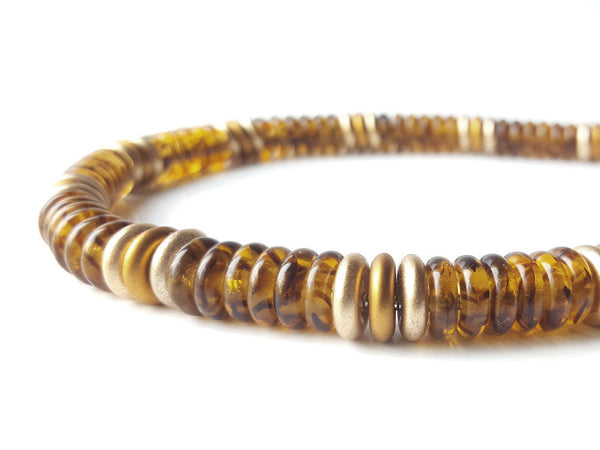 Men's Designer Necklace - Tortoiseshell