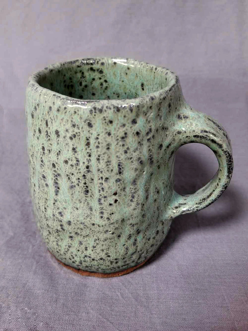 Tree Trunk Pottery Mug