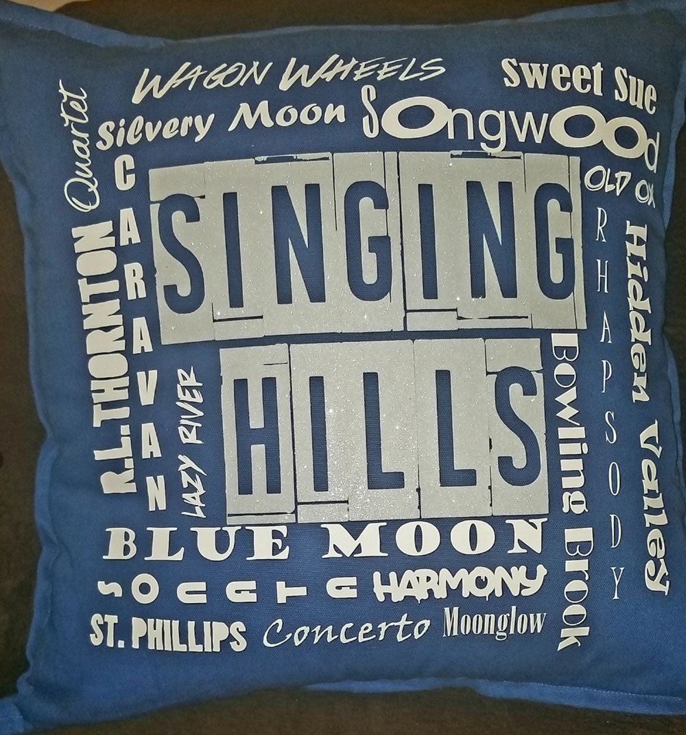 MillieBee Design Custom Pillow - Singing Hills